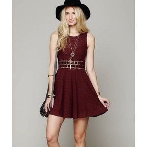 Free People Daisy Lace Skater Dress